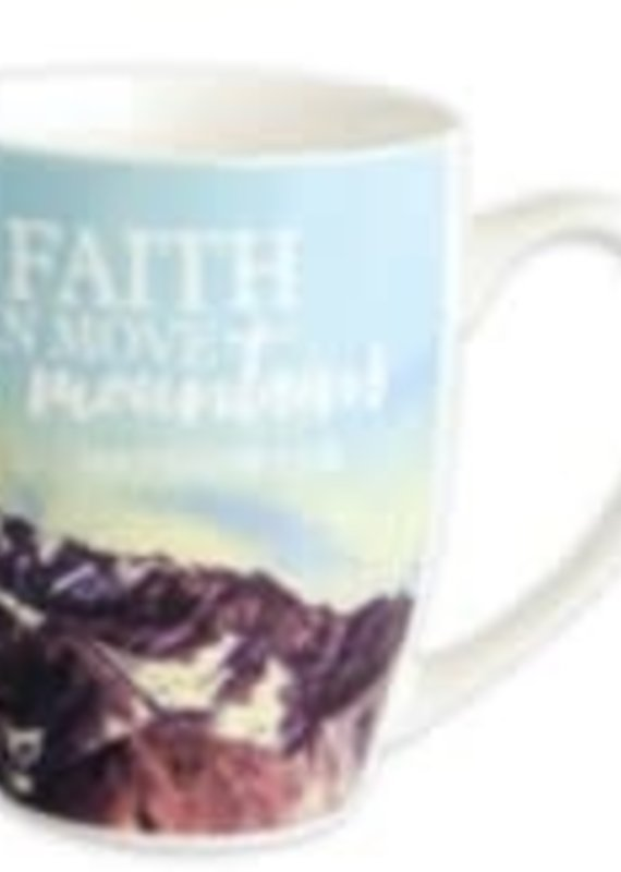 899 Mug Faith Can Move Mountains