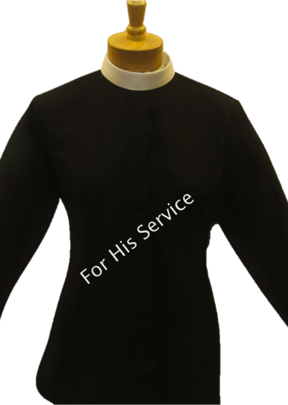 Clergy Shirt Women's Long Sleeve