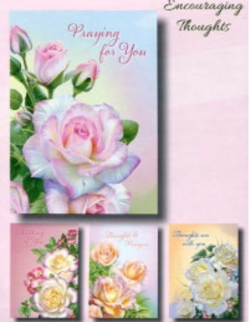 Card-Boxed-Encouragement-Roses (Box Of 12)