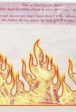 "Prayer Shawl-Names Of God (72"" X 24"")-Acrylic"