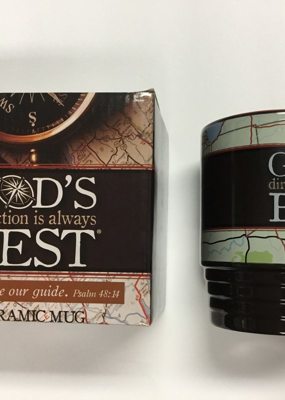 God's Direction Is Always Best Ceramic Mug