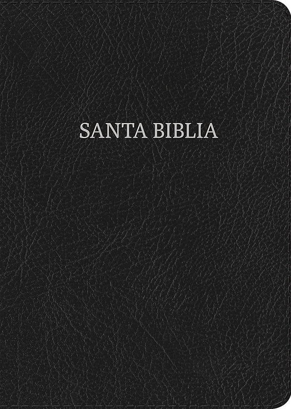RVR 1960 Giant Black Letter Bible, leather made with index