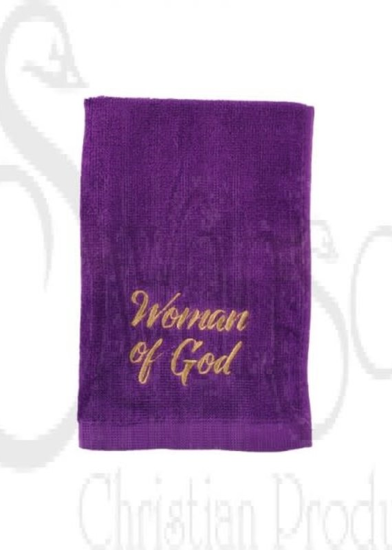 Pastor Towel Woman of God Purple
