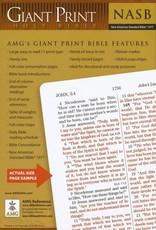 NASB Giant Print Handy-Size Bible