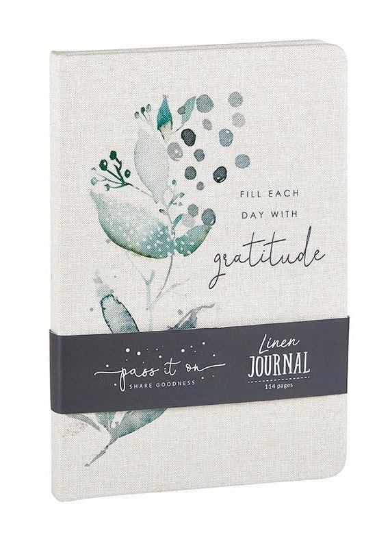 Linen Journal Gratitude