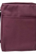 Bible Cover Canvas Burgundy