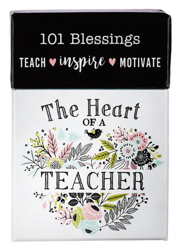 Box of Blessings Heart Of A Teacher