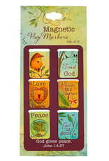 Bookmark-Pagemarker-Peaceful Thoughts-Small-Set Of 6