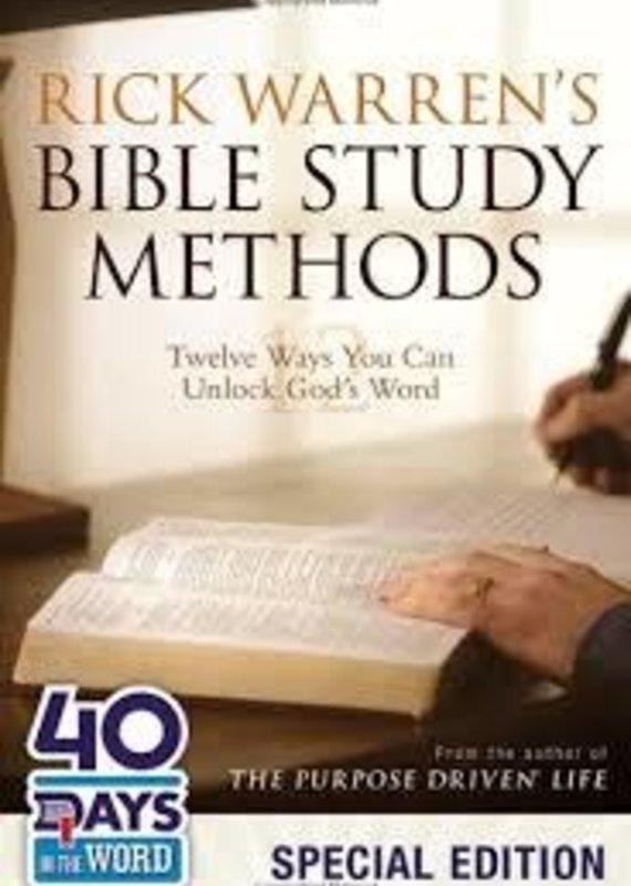 Zondervan Bible Study Methods