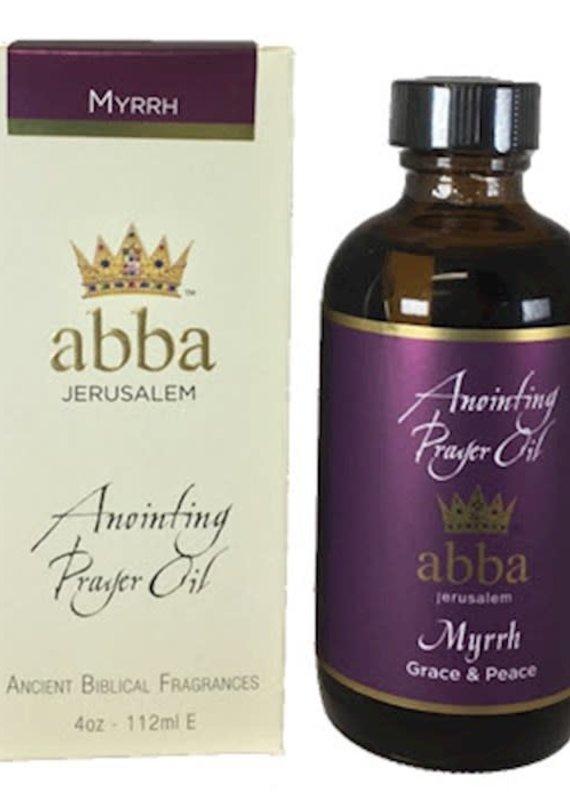 Anointing Oil Myrrh 4 oz