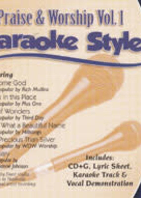 Daywind CD  Karaoke Praise & Worship Volume 1
