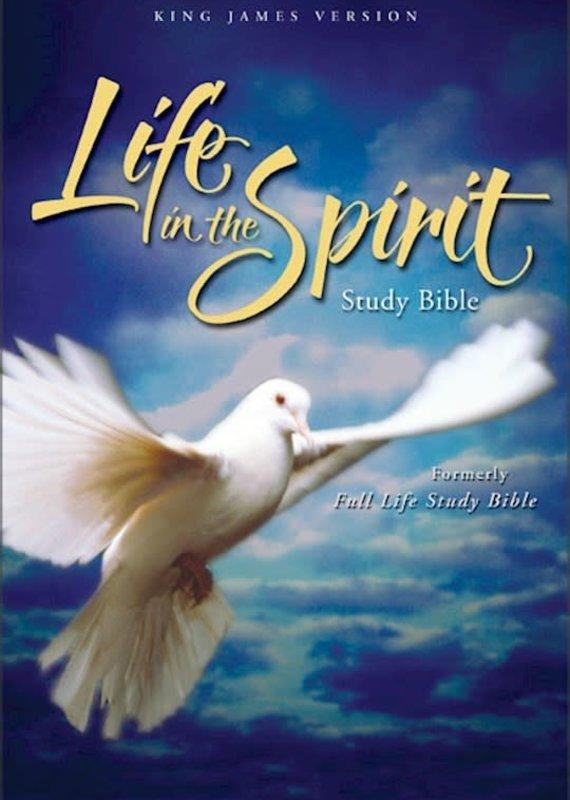 KJV Life In The Spirit Study Bible Black Genuine
