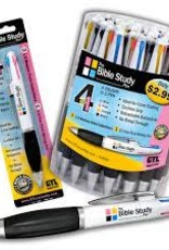 34104 - THE BIBLE STUDY 4-in-1 PEN (CARDED)