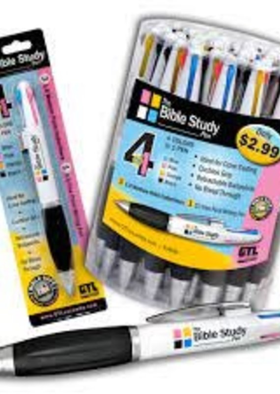 THE BIBLE STUDY 4-in-1 PEN