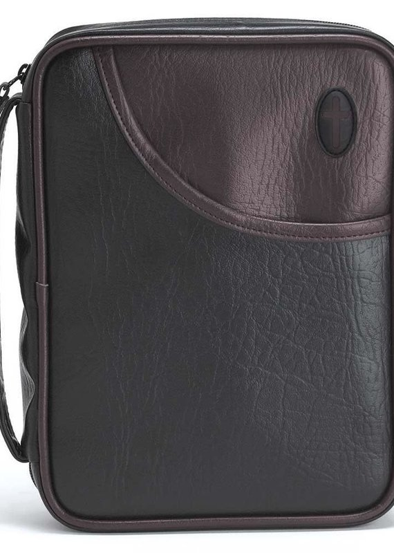 Bible Cover With Cross Burgundy