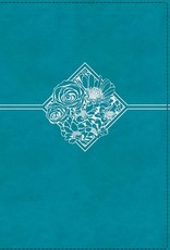 NIV Quest Study Bible Teal Leathersoft Indexed