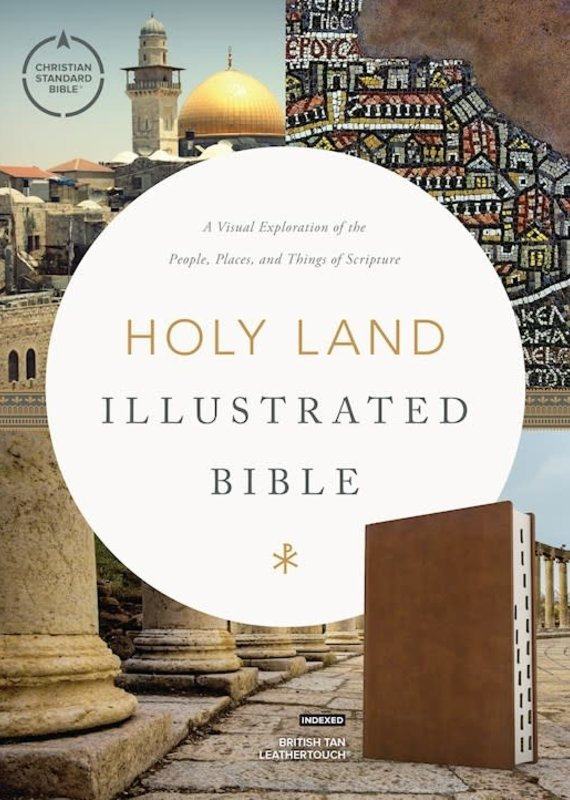 CSB Holy Land Illustrated Bible