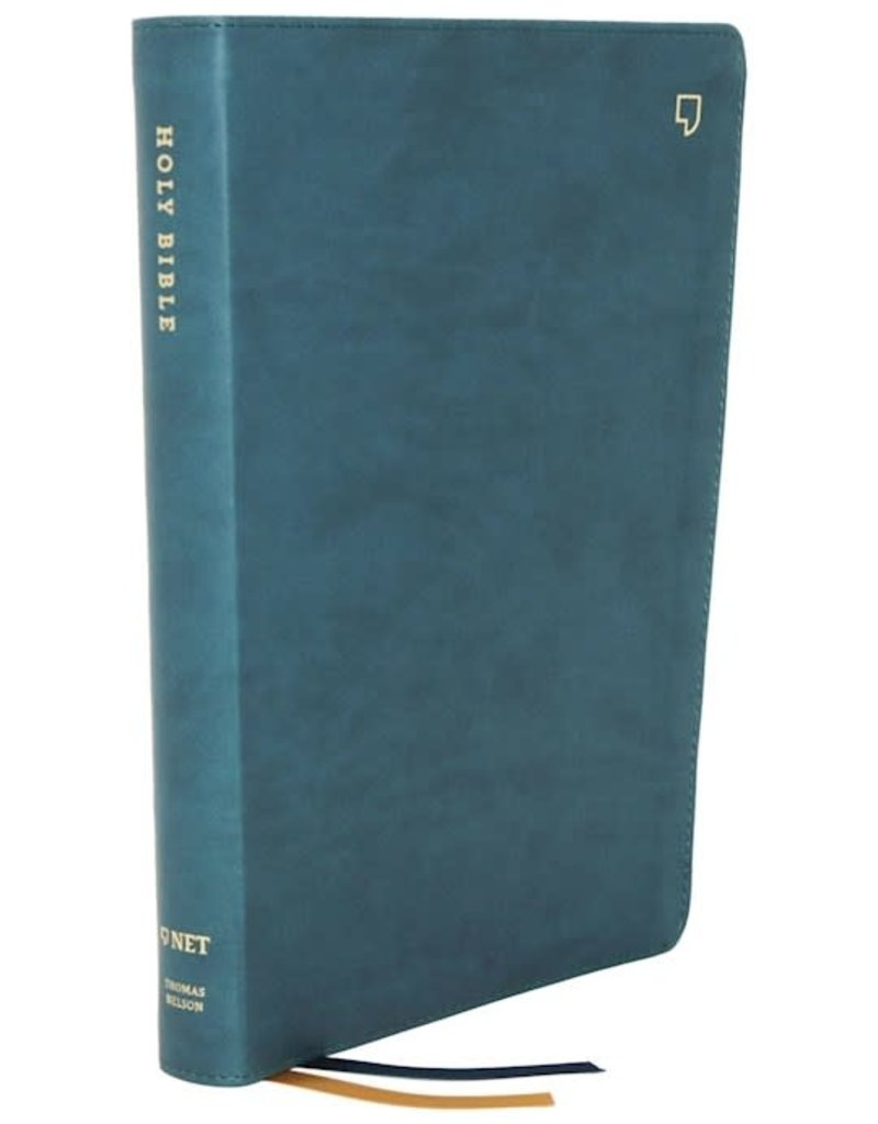 NET Thinline Bible (Comfort Print)-Teal Leathersoft