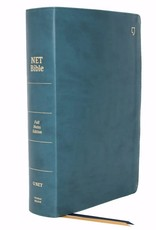NET Bible (Full-Notes Edition) (Comfort Print)-Teal Leathersoft Indexed