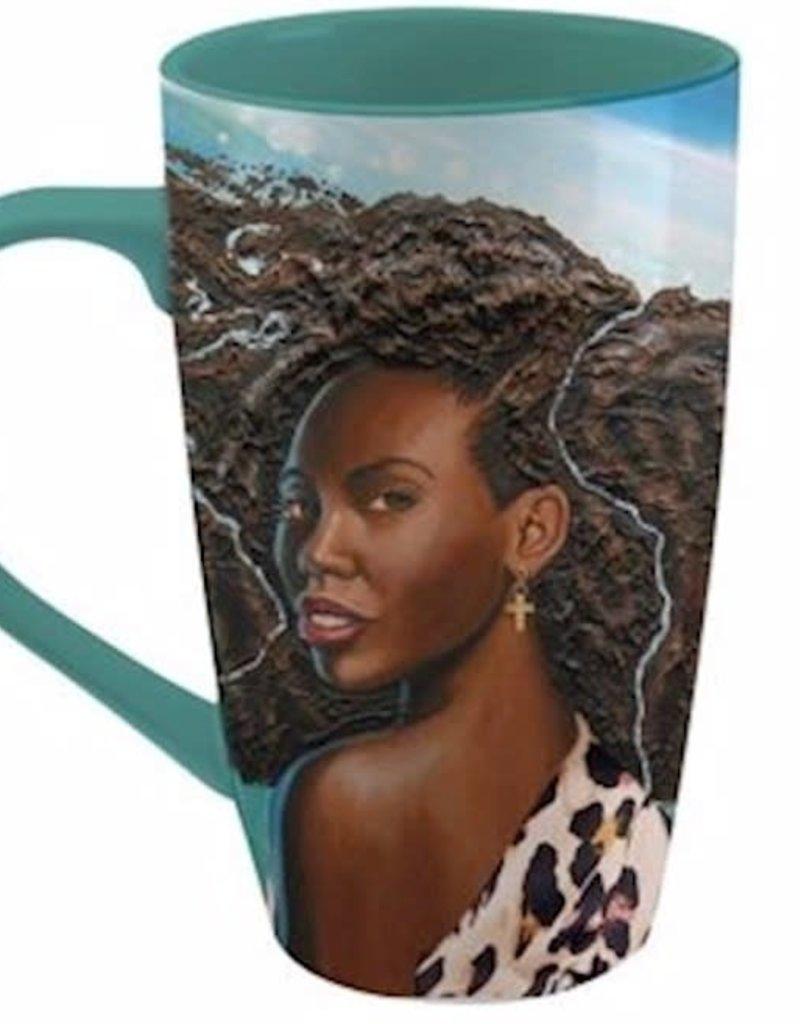 Mug-Latte-Wonderfully Made (17 Oz)