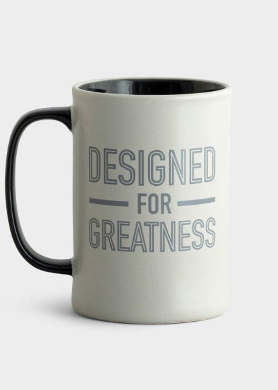 Mug Designed for Greatness