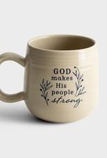 Mug God Makes His people strong