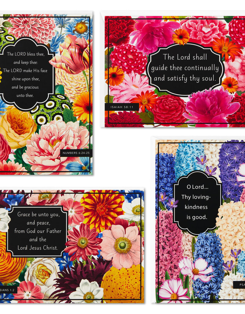 Boxed Cards Thinking of You Wild Flowers