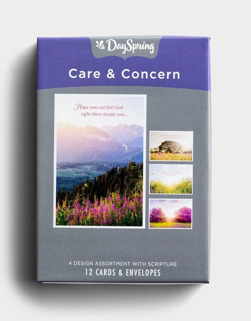 Boxed Card Care and Concern God Cares