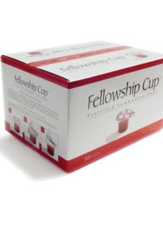 Broadman Communion Fellowship Cup Prefilled Juice/Wafer