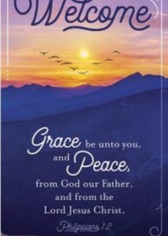 Guest Card Welcome: Grace And Peace