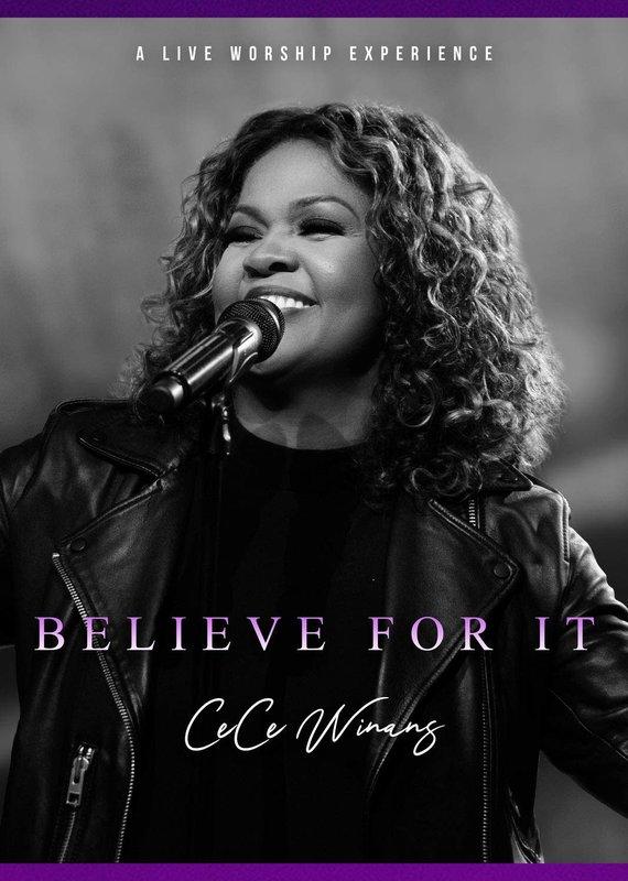 Audio CD Ce Ce Winans Believe For It