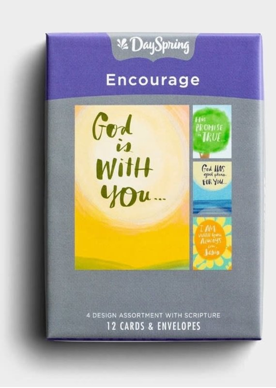 Boxed Cards Care Encourage God with you