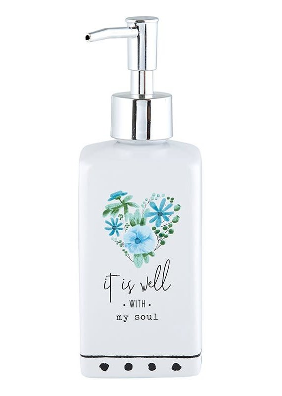 Soap Dispenser  It is Well