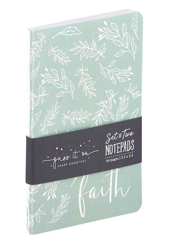 Notepad Set Faith Can Move Mountains