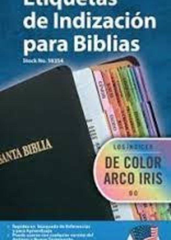 TABBIES SPANISH OLD & NEW TESTAMENT 80 ASSORTED TABS single