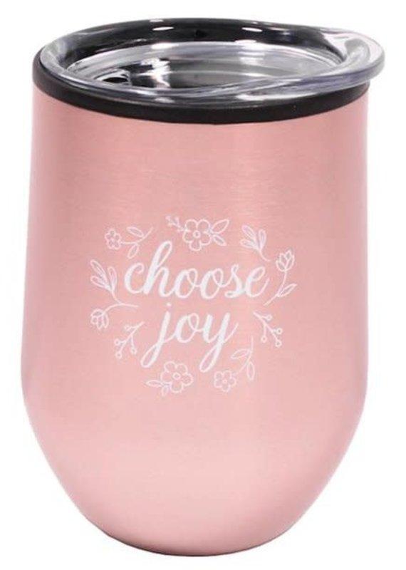 Tumbler  Choose Joy Pink