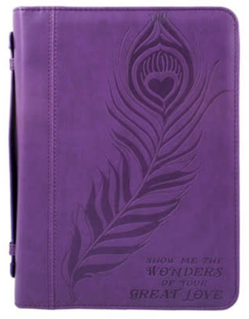 Bible Cover-Great Love-Embossed
