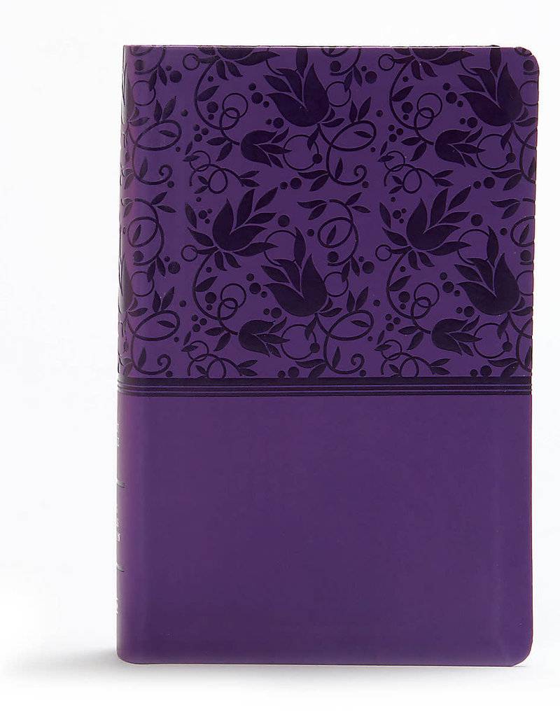KJV Personal Size Large Print Purple indexed