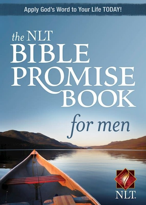 NLT Bible Promise Book For Men