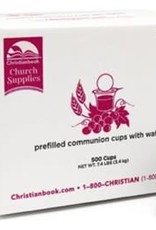 Christianbook Prefilled Communion Cups, Box of 500