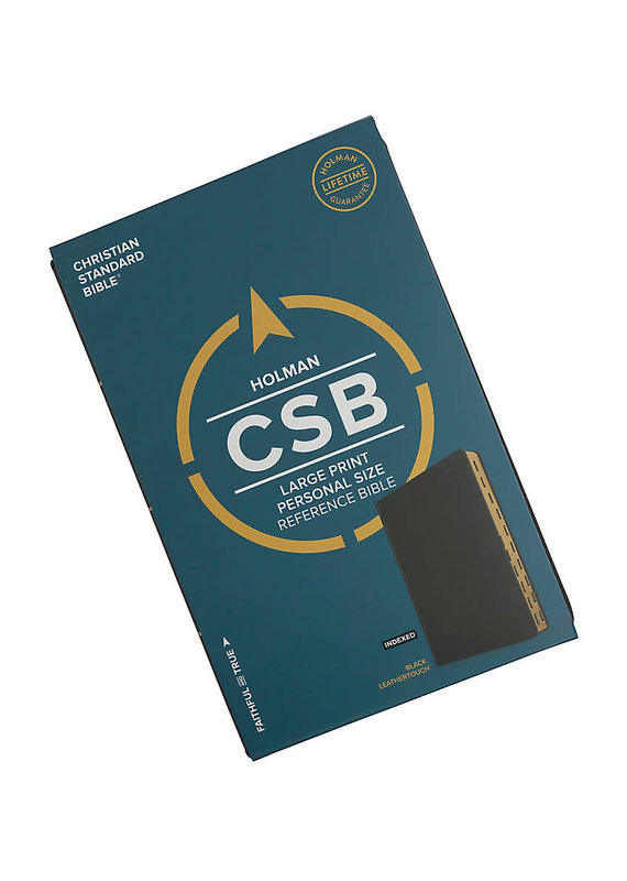 CSB Large Print Personal Size Reference Bible