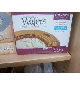 Broadman Commun-Communion Bread Wafer-Bx/1000
