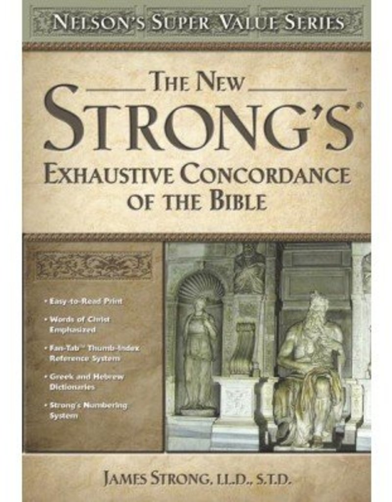 New Strong's Exhaustive Concordance (Value Series)
