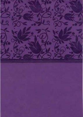 KJV Large Print Personal Reference Bible Purple