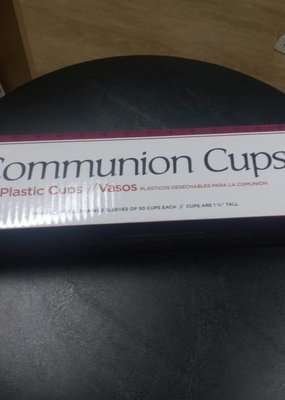 """Broadman Communion Cup - Disposable - 1-3/8"""" (Pack Of 100)"""