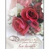Bulletin-Two Hearts As One (Wedding) (Pack Of 100)