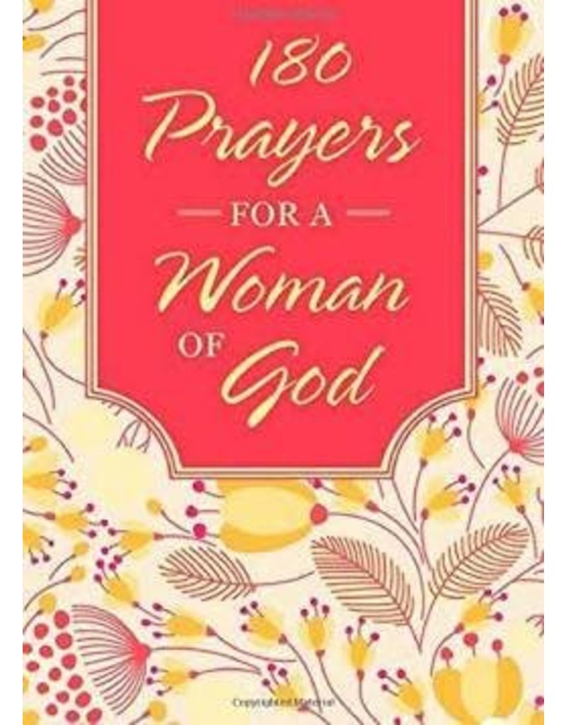 Barbour 180 Prayers For A  Woman Of God