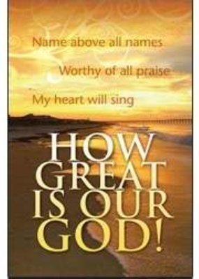 Warner Press Bulletin-How Great Is Our God! (Pack Of 100)