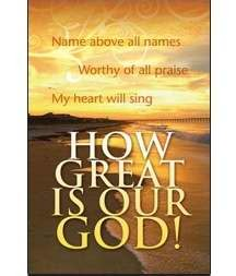 Bulletin-How Great Is Our God! (Pack Of 100)