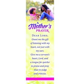 Warner Press A Mother's prayer Dear Lord grant me the gift bookmark